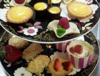 High Tea Tray Display