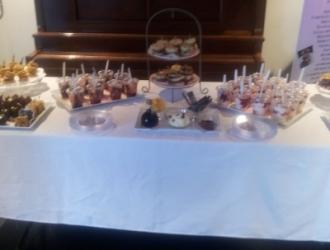 Breakfast Set Up in Lismore