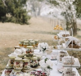 Wedding Reception - Picnic Style buffet