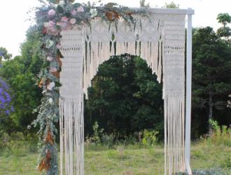 macrame arch