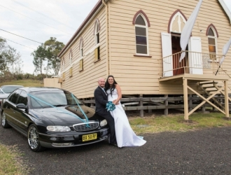 pop up wedding car