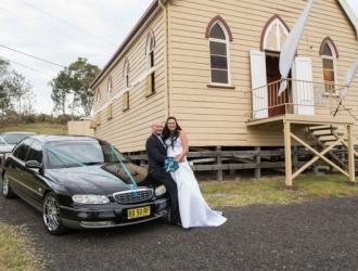pop up wedding car