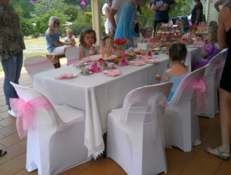Princess Party for 4 yr old