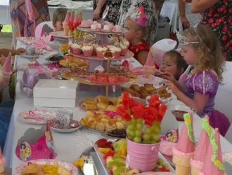 Food for Princess Party